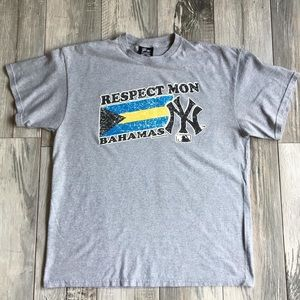"2009 NY Yankees Bahama ""Respect Mon"" Tee"